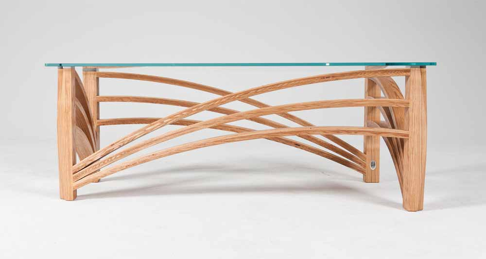Inspired bespoke coffee table