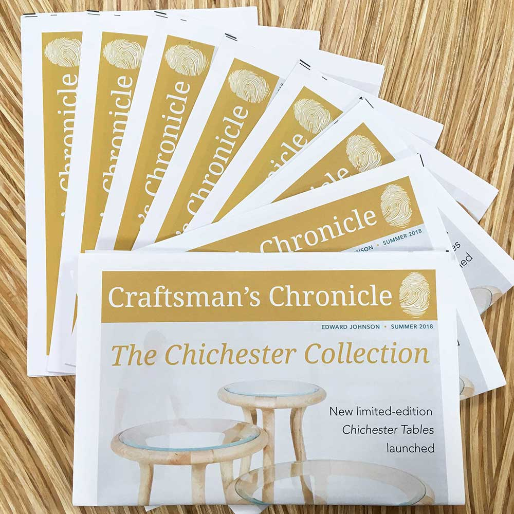 Craftsman's Chronicle Summer 2018 newspaper