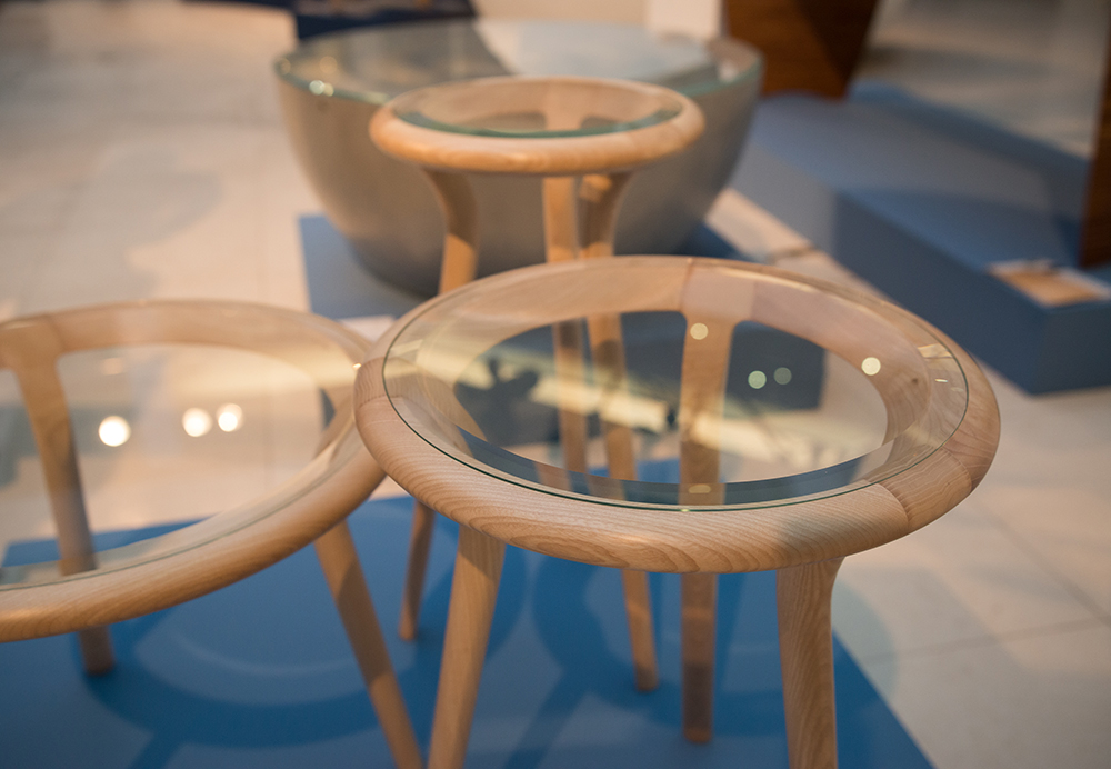 Chichester Tables at the Evolution of Tradition exhibition