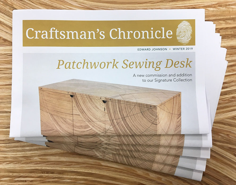 Craftsman's Chronicle Winter 2019 newspaper