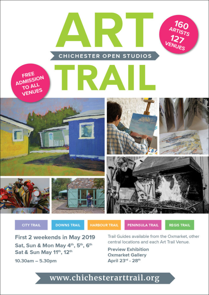 Chichester Art Trail poster.