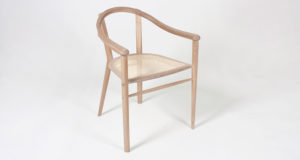 Oak Sussex Chair with cane seat.