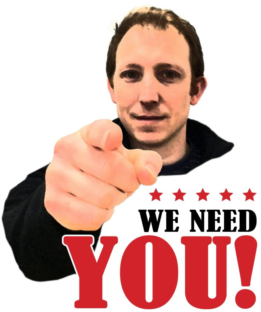 A 'We Need You' Kitchener styled poster featuring Edward Johnson.
